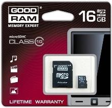 16GB micro SD klass 10 UHS1
